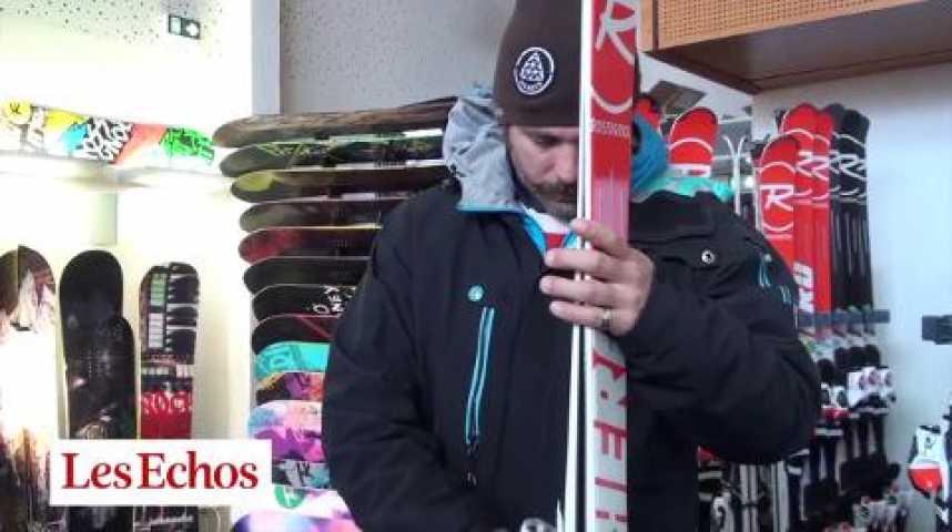 """Illustration pour la vidéo Sotchi : dans l'atelier des skis """"haute couture"""" Rossignol"""