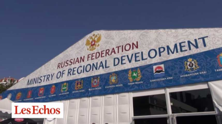 Illustration pour la vidéo Immobilier russe : Cannes ou comment oublier la Crimée...