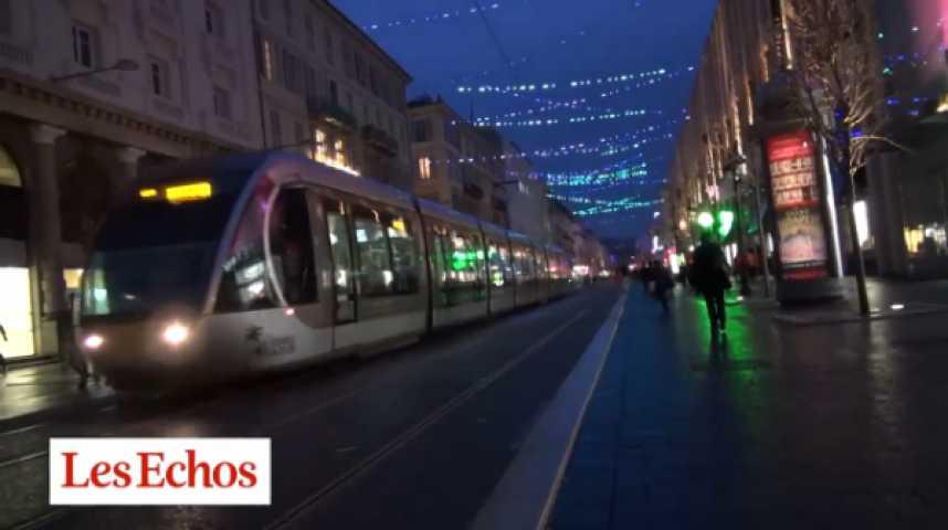 Illustration pour la vidéo Nice : la bataille du tramway
