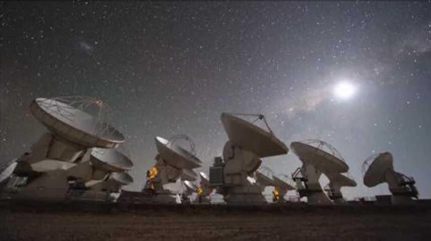 Illustration pour la vidéo A 5.000 mètres d'altitude, Alma veut percer les secrets du cosmos