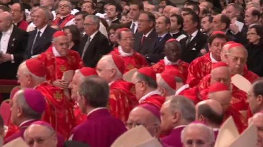 Illustration pour la vidéo Conclave, acte 1 : Messe solennelle, basilique St Pierre