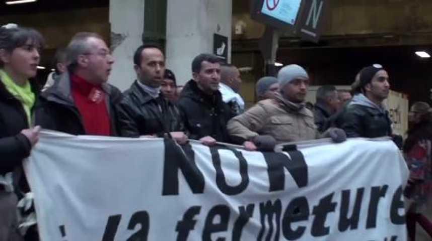 Illustration pour la vidéo Les salariés de PSA Aulnay jouent les perturbateurs face à Montebourg