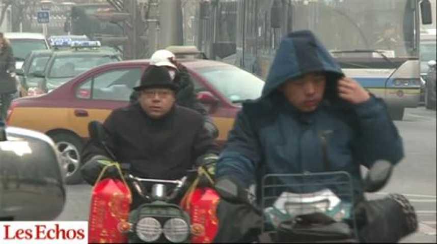 Illustration pour la vidéo Pollution : le « smog » chinois irrite le Japon