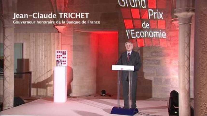 Illustration pour la vidéo Remise du Grand Prix de l'économie