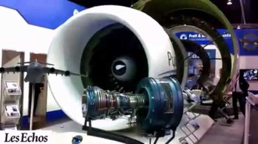 Illustration pour la vidéo Aéronautique : Visite guidée du Salon de Singapour