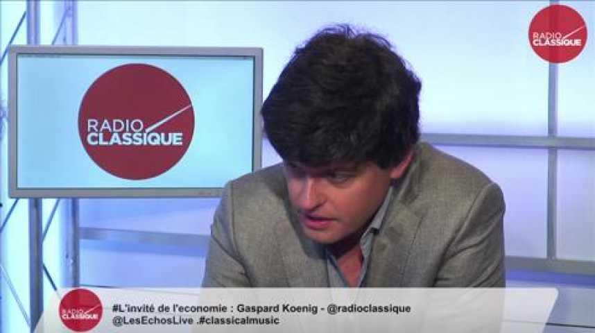 Illustration pour la vidéo Gaspard Koenig, écrivain