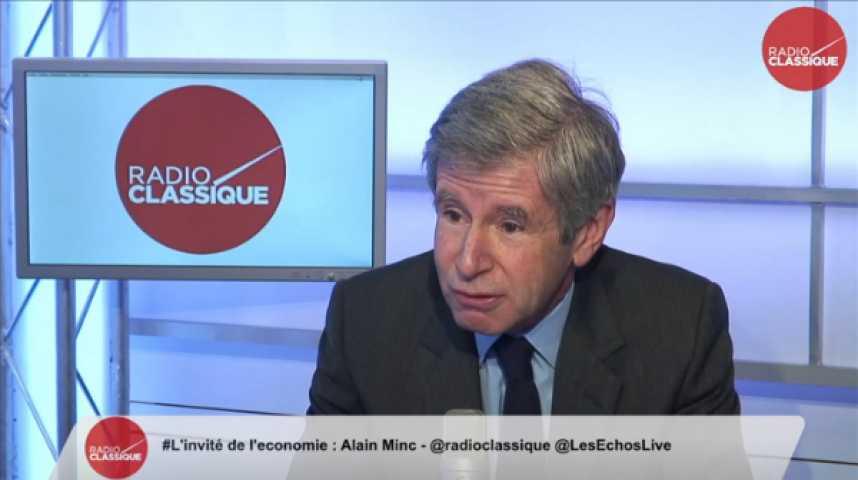 Illustration pour la vidéo Alain Minc, conseiller politique et économique
