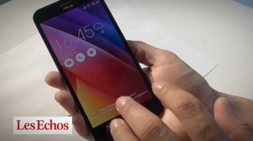 Illustration pour la vidéo Test Tech: le Zenfone Max, le smartphone qui ne veut pas s'éteindre