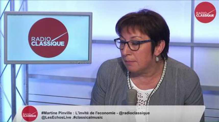 Illustration pour la vidéo Martine Pinville, secrétaire d'État chargée du Commerce, de l'Artisanat, de la Consommation et de l'Économie sociale et solidaire