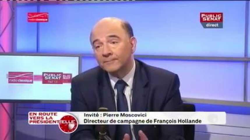 Illustration pour la vidéo Pierre Moscovici