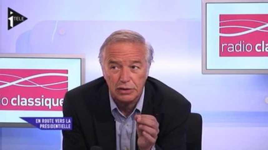 Illustration pour la vidéo François Rebsamen était l'invité de Michael Darmon et Guillaume Tabard