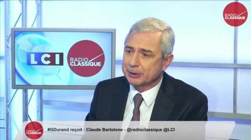 """Illustration pour la vidéo Claude Bartolone: """"Nicolas Sarkozy veut jouer le match retour des présidentielles."""""""
