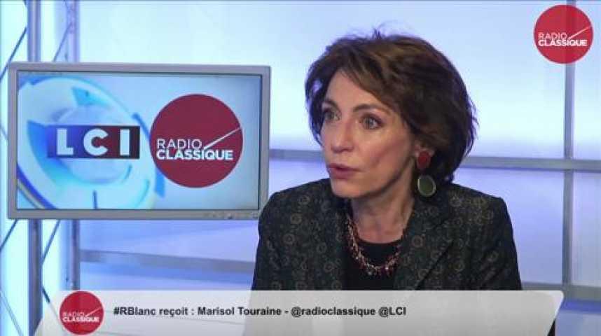 """Illustration pour la vidéo Marisol Touraine, """"Il n'y a pas d'étatisation du système de santé"""""""