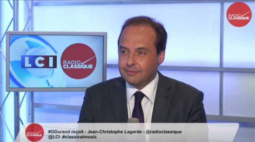 """Illustration pour la vidéo Jean-Christophe Lagarde: """"L'UDI n'est pas là pour choisir entre 2 candidats de l'UMP."""""""