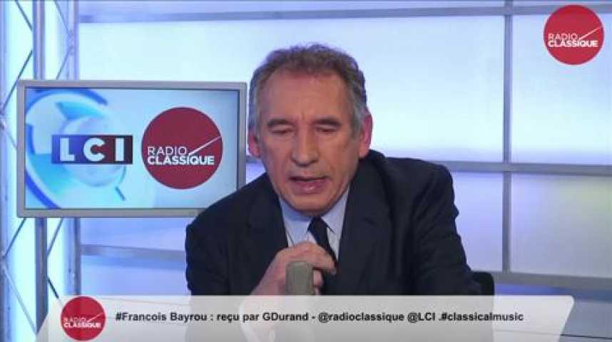 """Illustration pour la vidéo François Bayrou: """"Collège: Nous n'avons le choix qu'entre la résignation ou la mobilisation, et je plaide pour la mobilisation."""""""