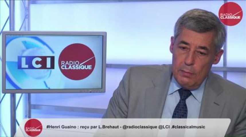 """Illustration pour la vidéo Henri Guaino : """"On a détruit ce qui restait de l'économie grecque !"""""""