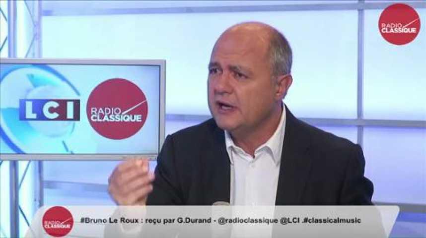 Illustration pour la vidéo Bruno Le Roux, sur la Syrie : « Il faut un appui au sol, mais sans les troupes françaises.»