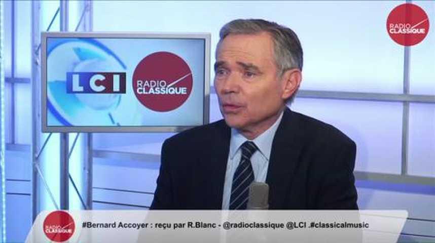 Illustration pour la vidéo Bernard Accoyer, « C'est difficile de faire campagne quand on est Président de l'Assemblée nationale »