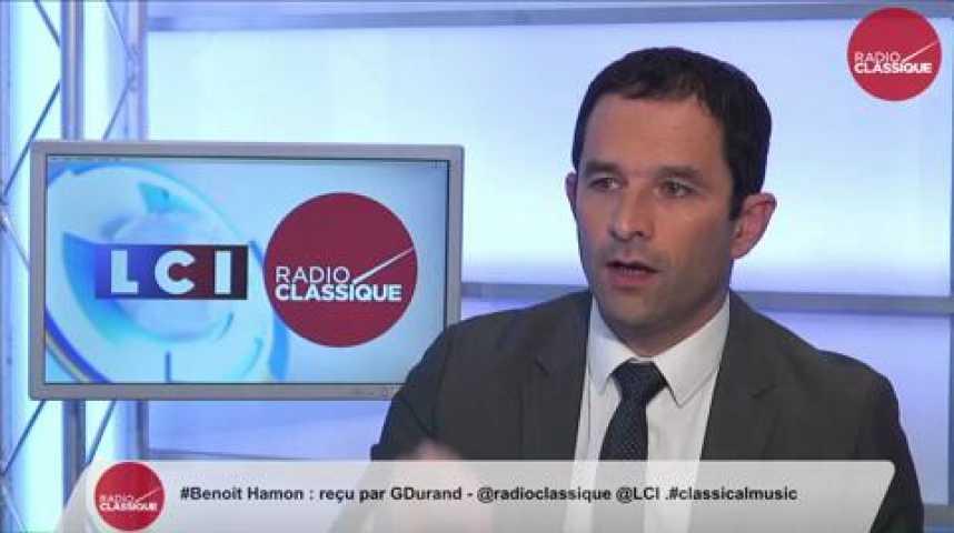 """Illustration pour la vidéo Benoît Hamon, """"Il y aura moins d'inégalités à la fin du quinquennat de François Hollande mais sur la question sociale, le compte n'y est pas """""""