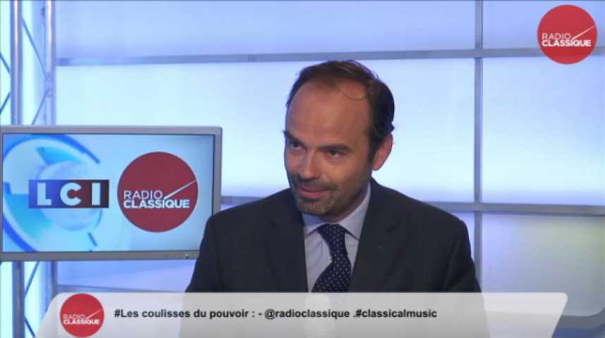 """Illustration pour la vidéo Edouard Philippe: """"Juppé/Sarkozy: """"Il y a une concurrence légitime mais il n'y a pas d'hostilité franche."""""""