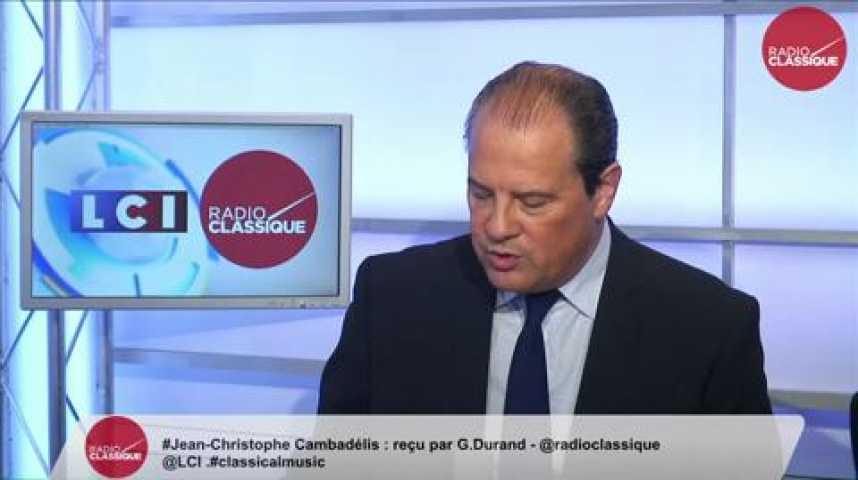 """Illustration pour la vidéo Jean-Christophe Cambadélis, """"Juppé est une bulle"""""""