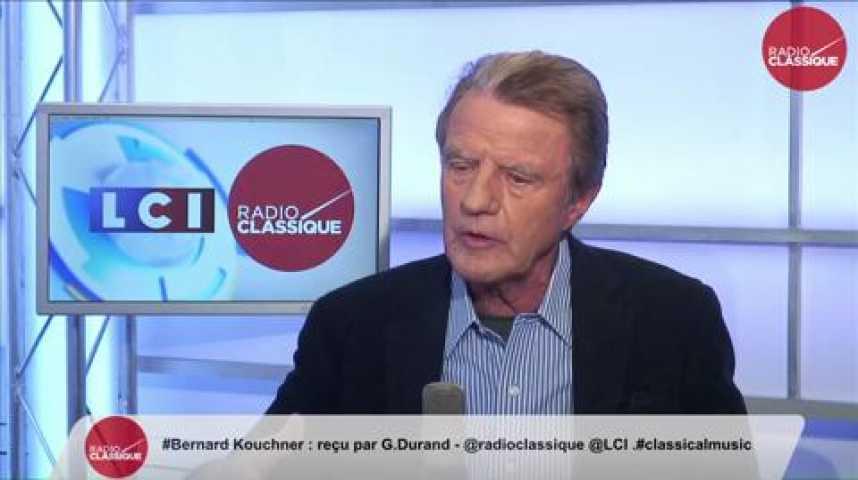 """Illustration pour la vidéo Bernard Kouchner, """"Le Président de la République se dit social-démocrate, mais il ne l'est pas assez."""""""