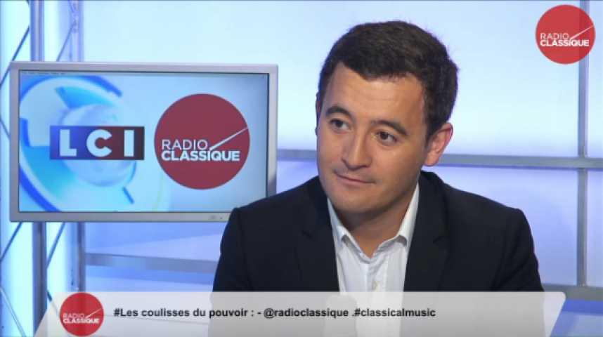 """Illustration pour la vidéo Gérald Darmanin, """"Madame Aubry est l'incarnation de tout ce qui ne marche pas en France."""""""
