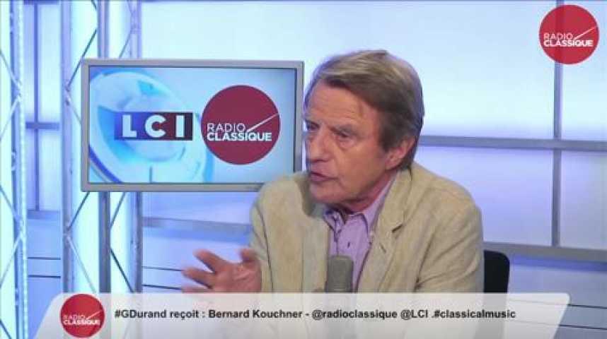 """Illustration pour la vidéo B. Kouchner sur la crise des migrants : """"J'ai demandé une flottille européenne de secours"""""""