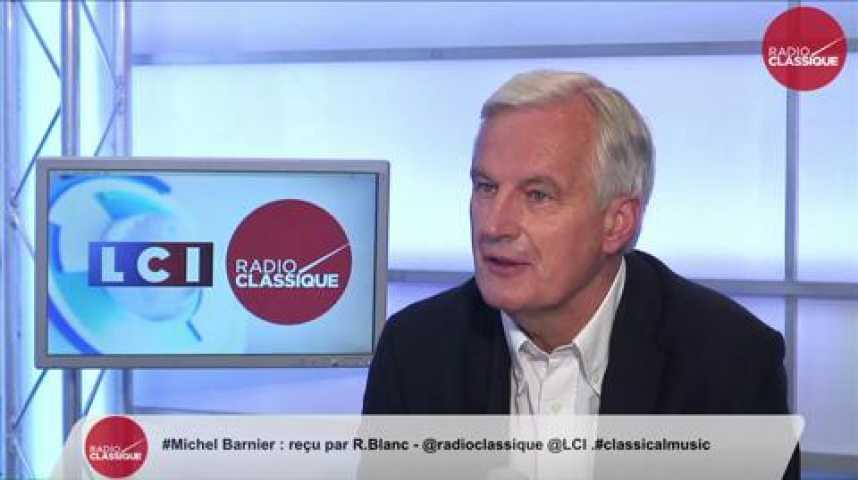 """Illustration pour la vidéo Michel Barnier : """"On n'a pas fait tout ça pour laisser partir ce pays"""""""