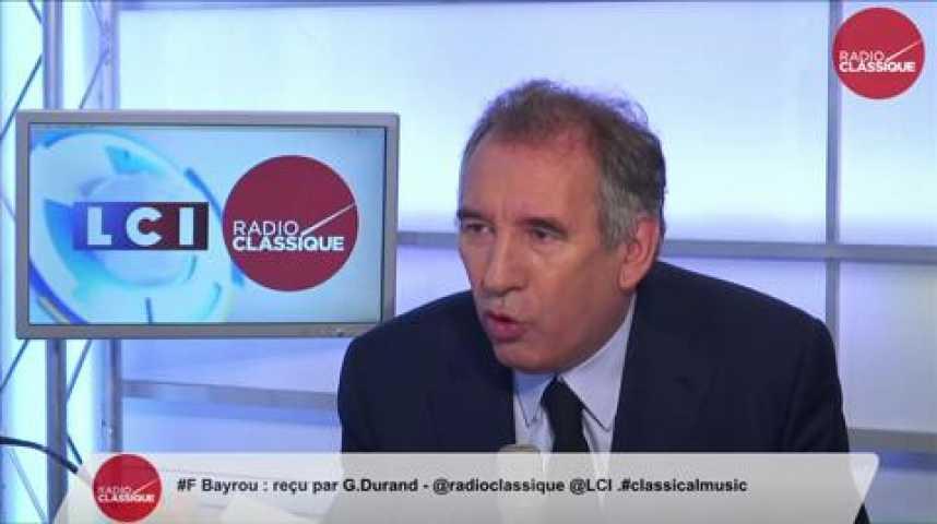 """Illustration pour la vidéo François Bayrou: """"Le gouvernement grec est dans un grand affolement, on risque un grave accident."""""""