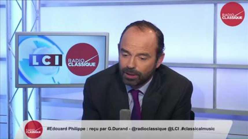 Illustration pour la vidéo Edouard Philippe, « J'exprime des doutes sur la sincérité de ce budget »