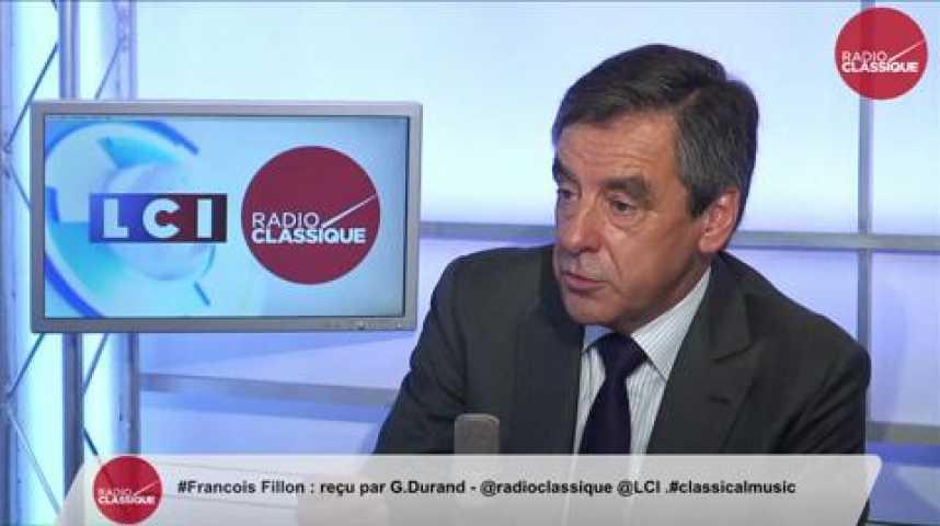"""Illustration pour la vidéo François Fillon, """"Je pense être le seul à porter un vrai programme de libéralisation économique."""""""