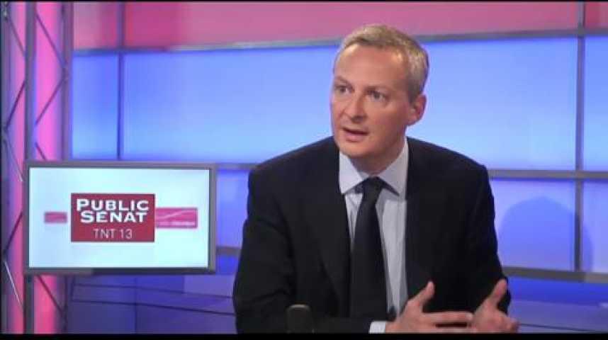Illustration pour la vidéo Bruno Le Maire (UMP)