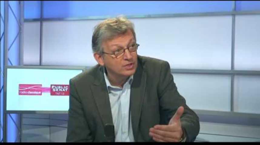 Illustration pour la vidéo Linvité politique : Pierre Laurent, secrétaire national du PCF