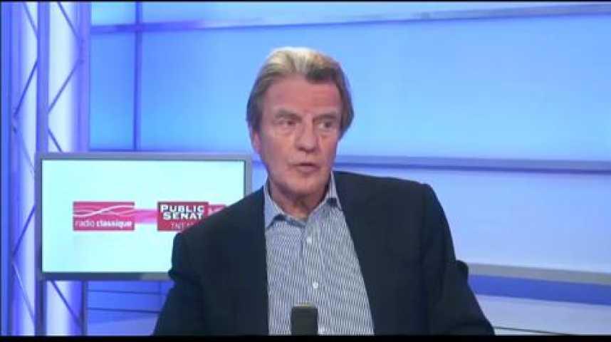 Illustration pour la vidéo L'invité politique : Bernard Kouchner, ancien Ministre des Affaires étrangères