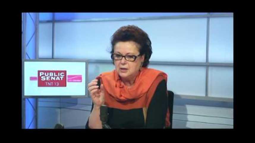 """Illustration pour la vidéo Christine Boutin (Parti chrétien-démocrate) : """"Ce sont les Droits de l'Homme qui sont en train de s'effondrer"""""""