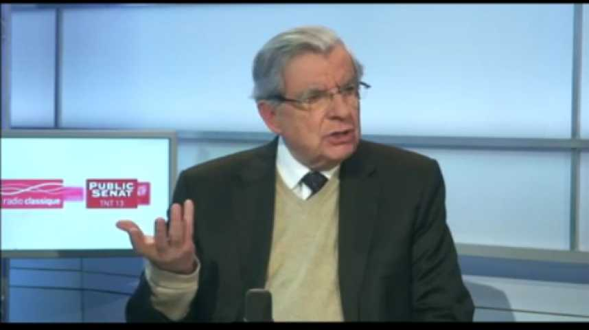 Illustration pour la vidéo L'invité politique : Jean-Pierre Chevènement, Sénateur du Territoire de Belfort