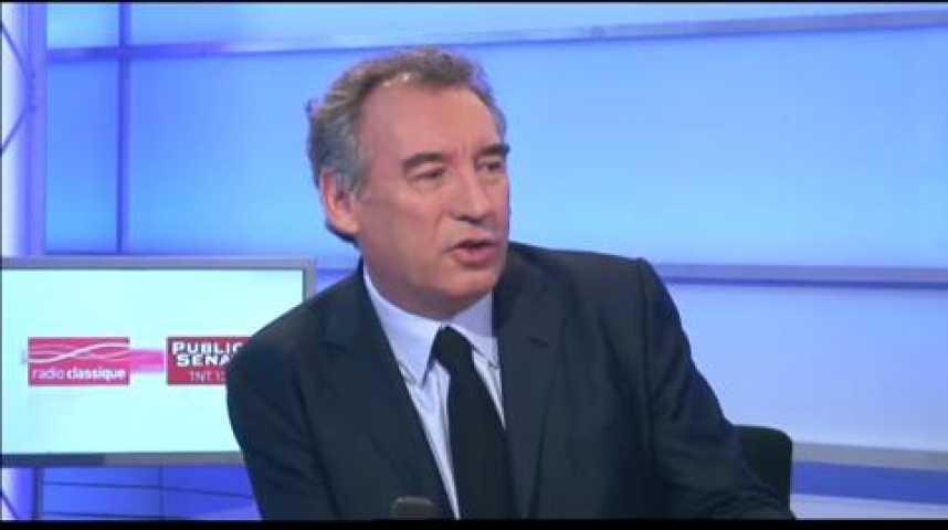 """Illustration pour la vidéo François Bayrou : """"Ce texte est loin de la refondation de l'école"""""""