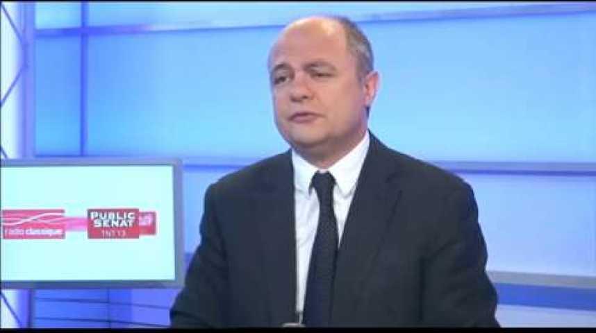 Illustration pour la vidéo L'invité politique : Bruno Le Roux (PS)