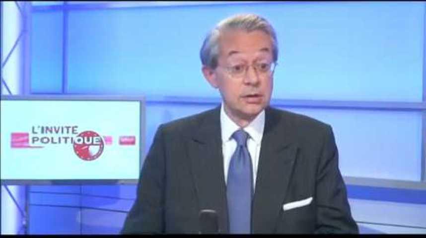 Illustration pour la vidéo L'invité politique : Philippe Marini (UMP)