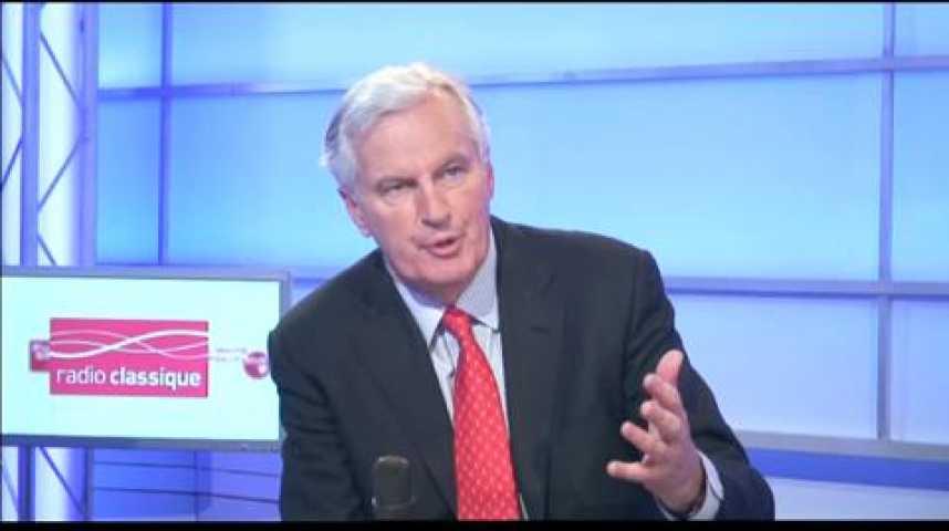 """Illustration pour la vidéo Michel Barnier : """"Ce n'est pas Bruxelles qui est responsable du déficit de la France"""""""