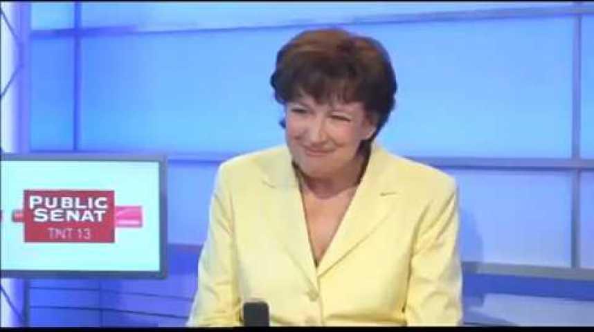 """Illustration pour la vidéo R. Bachelot (UMP) : """"N. Sarkozy n'est pas la Vierge Marie devant laquelle on s'agenouille"""""""