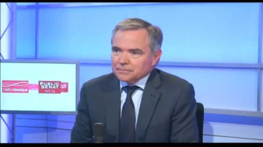 """Illustration pour la vidéo Bernard Accoyer (UMP) : """"Il y a un maquillage des chiffres sur le chômage"""""""