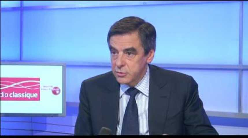 """Illustration pour la vidéo François Fillon : """"La France est en face d'un risque de déclin considérable"""""""