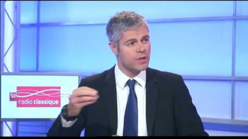 """Illustration pour la vidéo Laurent Wauquiez : """"Le gouvenement s'occupe de tout sauf d'emploi"""""""