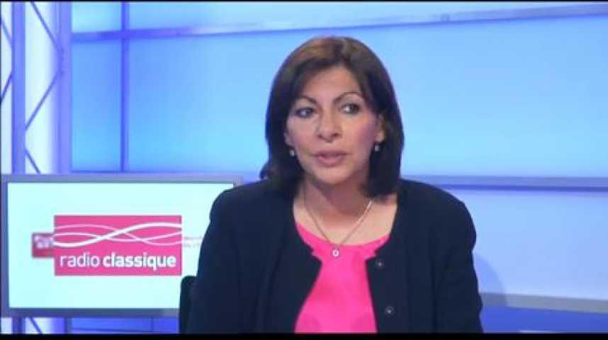 """Illustration pour la vidéo Anne Hidalgo : """"La droite a aujourd'hui une candidate sans surprise"""""""