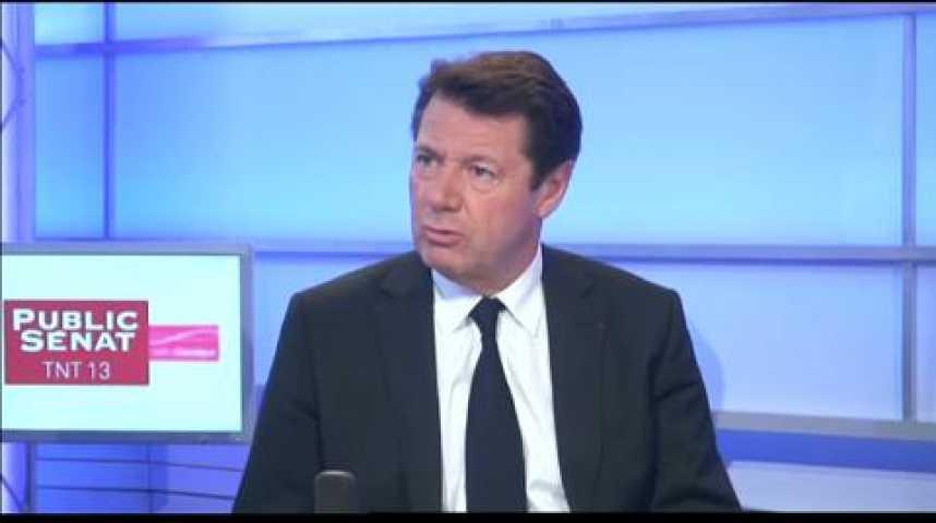 """Illustration pour la vidéo C. Estrosi (UMP) : """"Tout est prétexte aujourd'hui à un acharnement contre Nicolas Sarkozy"""""""