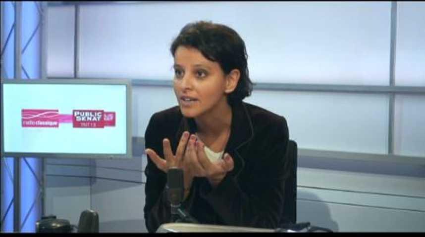 """Illustration pour la vidéo Najat Vallaud-Belkacem : """"La question du coût du travail est un élément parmi d'autres"""""""