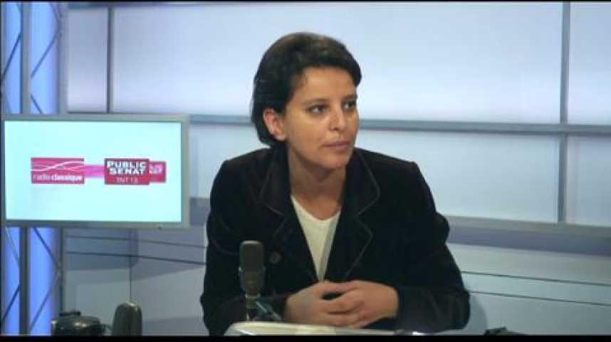 Illustration pour la vidéo L'invité politique : Najat Vallaud-Belkacem (PS)