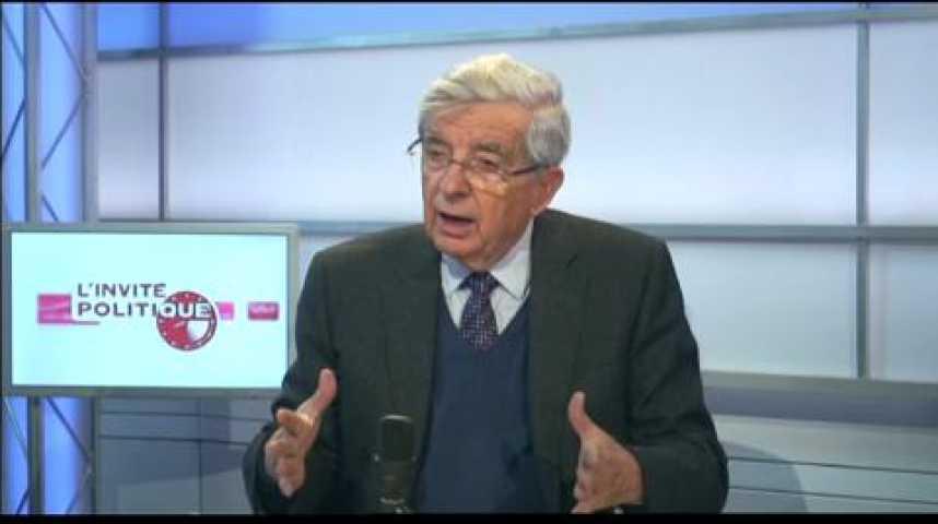 Illustration pour la vidéo L'invité politique : Jean-Pierre Chevènement